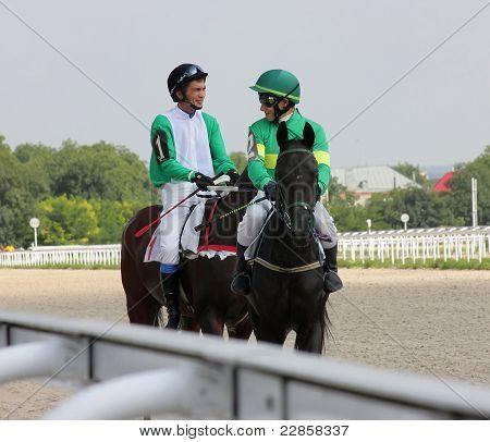 The Jockeys.
