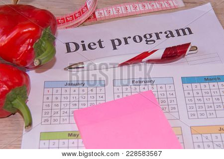 The Idea Of Healthy Diet, Dietary Breakfast. Losing Weight With The Help Of A Fruit Diet. Low-fat Di