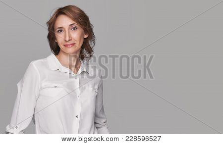 Fashionable Middle Aged Woman