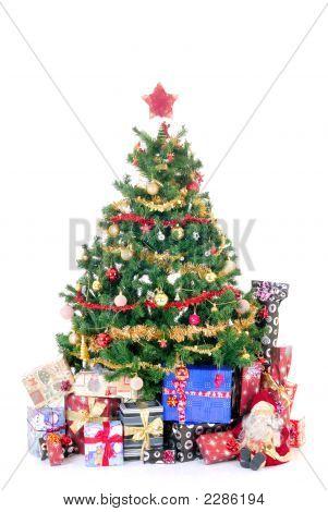 Weihnachten drei und Geschenke