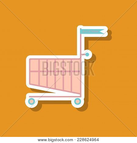 Fashion Patch, Sale Sticker Shopping Cart Black Friday
