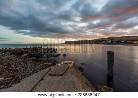Sunrise Over Myponga Beach In South Australia Australia On The 16Th February 2018
