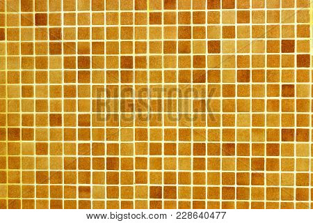 Checkered Tile Pattern. Detail For Bath And Pool