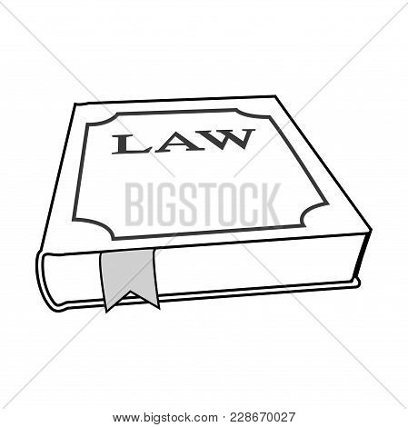 Design Element Symbol Book Legal Icon Law Theme02