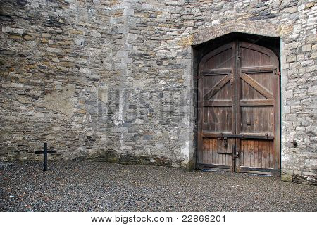 Courtyard Of Kilmainham Gaol