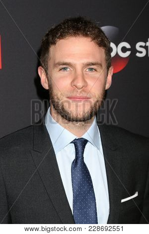 LOS ANGELES - FEB 24:  Iain De Caestecker at
