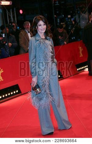 Iris Berben attends the closing ceremony during the 68th Berlinale International Film Festival Berlin at Berlinale Palast on February 24, 2018 in Berlin, Germany.