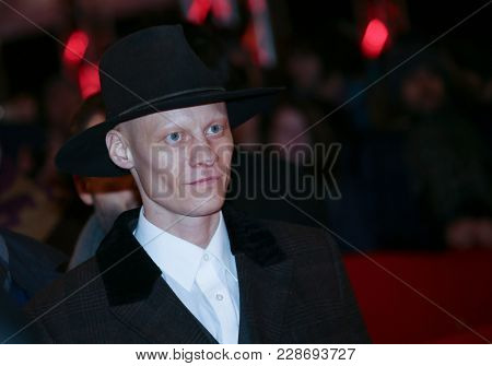 Island actor Tomas Lemarquis attend the closing ceremony during the 68th Film Festival Berlin at Berlinale Palast on February 24, 2018 in Berlin, Germany.