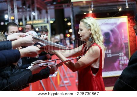 Connie Nielsen  attends the ''Liberty