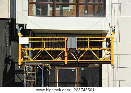 Suspended Platform (zlp) On Wall