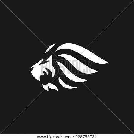 Lion Vector Logo On Vector & Photo (Free Trial) | Bigstock