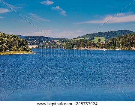 Lipno Dam - Sumava National Park, Czech Republic, Europe