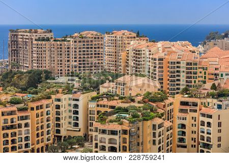 Monaco, Monte Carlo. Monaco Is The Second Smallest And The Most Densely Populated Country In The Wor