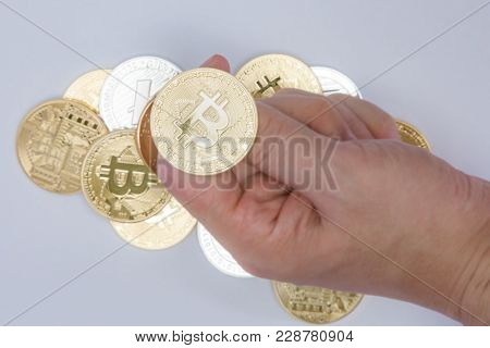 Crypto Currency Coin Flip