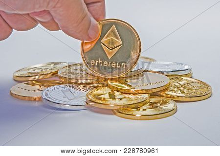 Vertical Etherium Coin