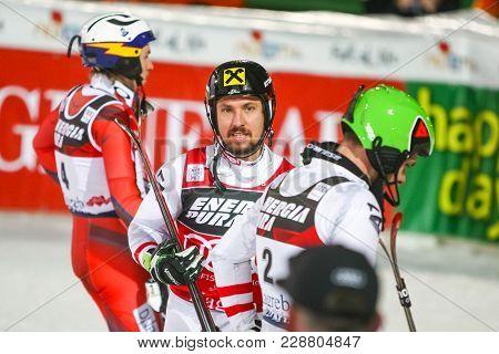 Audi Fis World Cup Mens Slalom Second Run