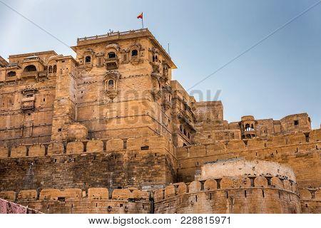 Jaisalmer Fort In Rajastha