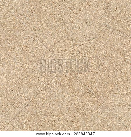 Wet Sand With Raindrops Seamless Texture Background