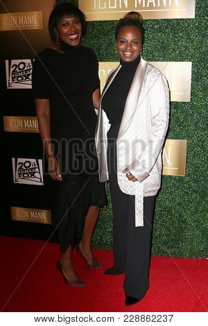 LOS ANGELES - FEB 27:  Sarah Broom, Dee Rees at the 6th Annual ICON MANN Pre-Oscar Dinner at Beverly Wilshire Hotel on February 27, 2018 in Beverly Hills, CA