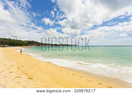 Unawatuna, Sri Lanka, Asia - A View Across The Wide Bay Of Unawatuna