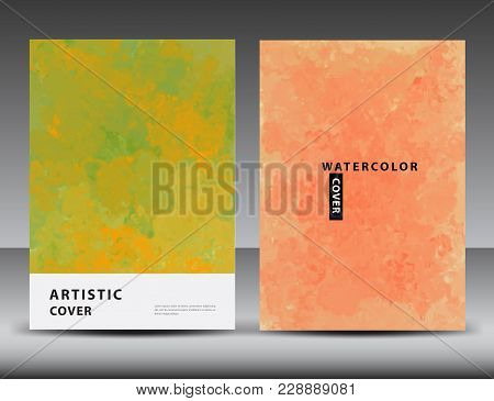Artistic Cover Design Template, Texture
