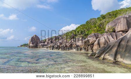 Anse Bonnet Carre On La Digue Seychelles