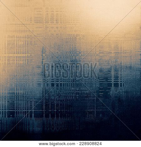 Old crumpled grunge background or ancient texture. With different color patterns
