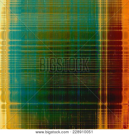 Retro background with old grunge texture. With different color patterns