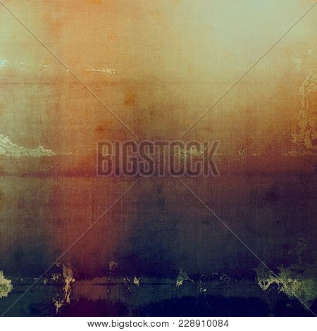 Abstract grunge background with retro design elements and different color patterns