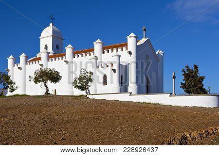 Mina De Sao Domingos Christian Catholic Church In Alentejo Region, South Of Portugal