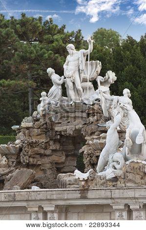 Neptune Fountain Schoenbrunn