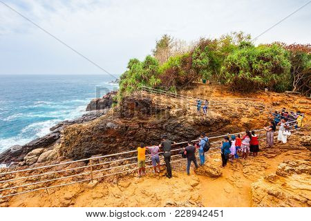 Hummanaya Blowhole Is The Only Known Blowhole In Sri Lanka. The Hummanaya Blowhole Is Located Near K
