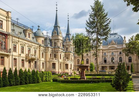 Izrael Poznanski's Palace Is A 19Th-century Palace In Lodz, Poland.