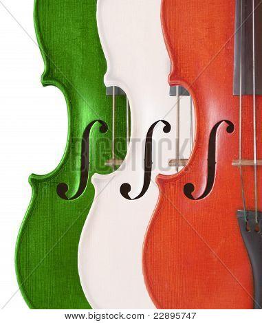 violins flag