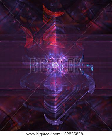 Advanced Alien Technology In Multiple Dreamy Layers