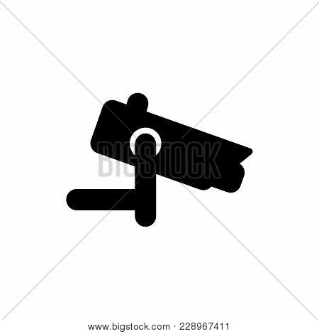 Security Camera Icon Isolated On White Background. Security Camera Icon Modern Symbol For Graphic An