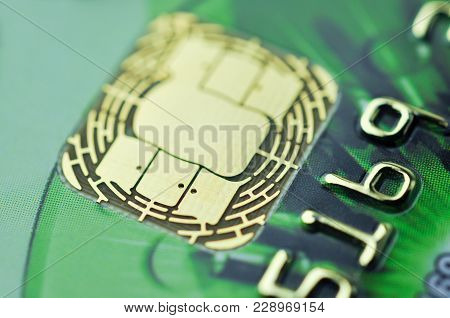 Credit Card Chip.