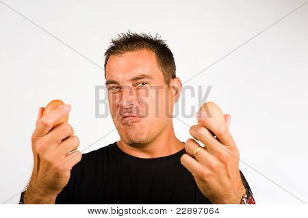 Macho Gesturing