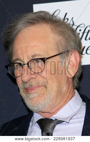 LOS ANGELES - FEB 27:  Steven Spielberg at the An Unforgettable Evening at Beverly Wilshire Hotel on February 27, 2018 in Beverly Hills, CA
