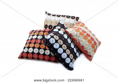 Four color cushions