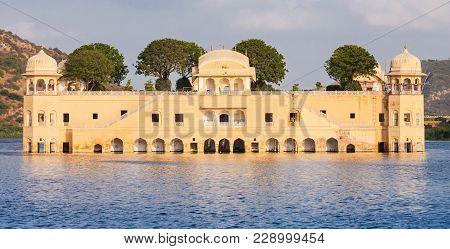 Jal Mahal Meaning Water Palace Is A Palace On Man Sagar Lake, Jaipur, India