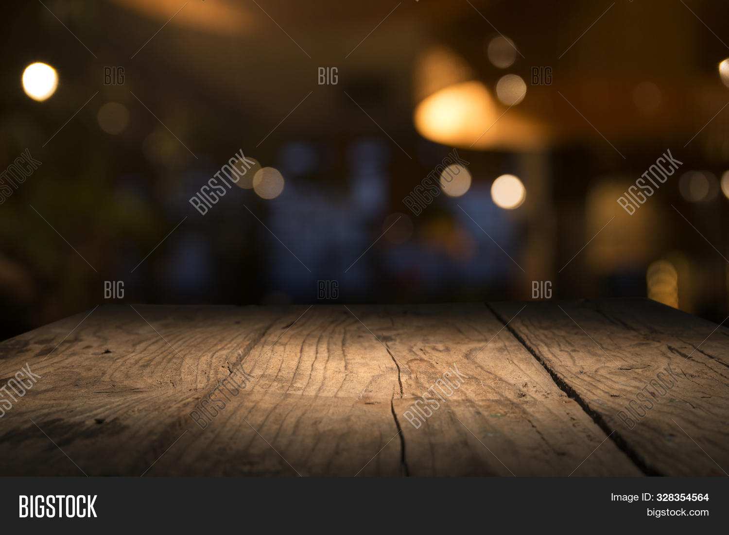 Empty Wood Table Top Image Photo Free Trial Bigstock