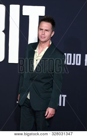 LOS ANGELES - OCT 15:  Sam Rockwell at the