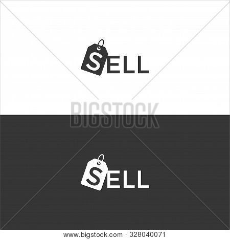 Vector Sell Logo Simple. Sell Logo. Simple Sell.