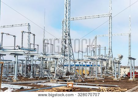 Construction Of A New Power Substation