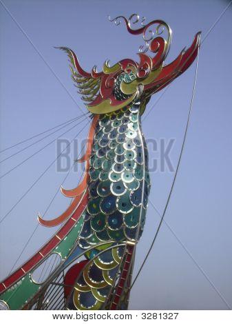 Statue Of Dragon.