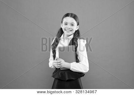 Kid School Uniform Hold Workbook. School Lesson. Child Doing Homework. Believe In Possibilities. Ins