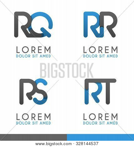 R Alphabet Logo Concept For Company Or Corporations Industry, Print Various Online And Offline, Prom