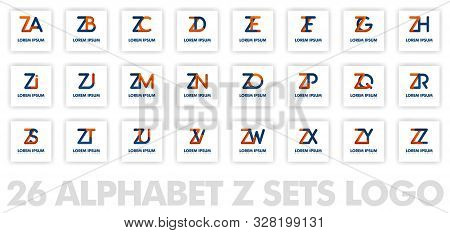 26 Alphabet Z Logo In 3d. Can Be Used For Company Logos, Fellowships, Consultants, Websites, Banners