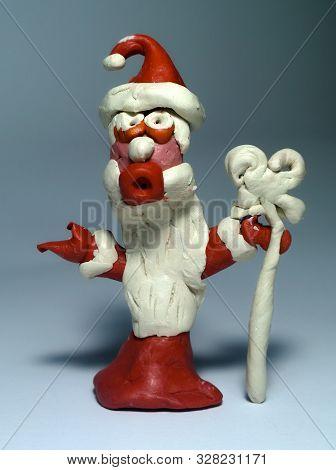 Santa Claus From Plasticine